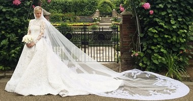 b33ea8326bf14 أجمل 15 فستان زفاف فى العالم خلال 2015.. اثنين منهم لمصممين عرب ...