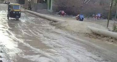 أهالى الشرفا بالجيزة يطالبون بإنهاء مشروع الصرف الصحى المتوقف من 7سنوات