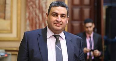 النائب محمد العقاد يطالب بالتصالح فى مخالفات البناء المزودة بالمرافق