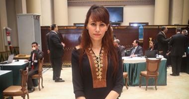 دينا عبد العزيز عضو مجلس النواب عن دائرة حلوان