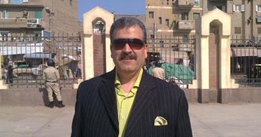العميد مدحت شربان رئيس قسم تنفيذ الأحكام بالبحيرة