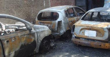 مجهولون يستهدفون أسرة مسيحية بالشرقية ويحرقون 3 سيارات ومنزلا