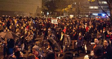 مظاهرة فى مونتريال