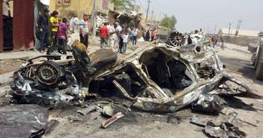 مقتل شخص وإصابة 12 آخرين فى تفجير سيارة بحى بعقوبة العراقى