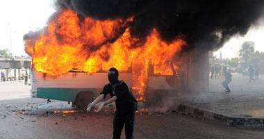 تواصل إطلاق الخرطوش الإخوان والمتظاهرين