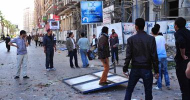 الأمن الاشتباكات المتظاهرين وأنصار الإخوان بالإسكندرية