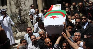 صور تشييع جنازة وردة الجزائرية , مشاهدة جنازة وردة الجزائرية اليوم الجمعة 18/5/2012