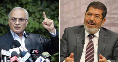 نتائج الفرز تظهر الإعادة بين مرسي وشفيق 1520122583140