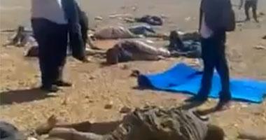 فيديو يكشف تفاصيل مقتل مصريين فى قصف عسكرى ليبى