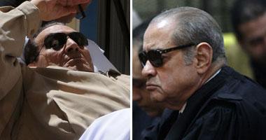 فريد الديب وحسنى مبارك