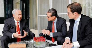 نتانياهو خلال حواره مع صحيفة بيلد الالمانية