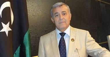 نورى أبو سهمين رئيس البرلمان الليبى