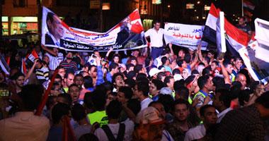 """المشاركون باحتفالية الاتحادية يطلقون """"باراشوتات"""" عليها صور السيسى 1620141213924"""