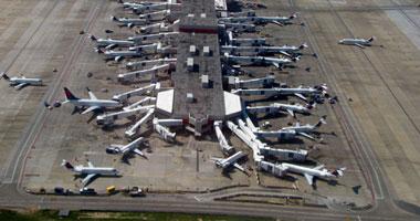 """موظفو مطار المعيتيقة الليبى ينظمون إضرابا ردا على اعتداءات """"ميليشيات"""""""