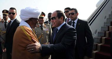 بالصور الرئيس السيسى الخرطوم البشير 1620142718192.jpg
