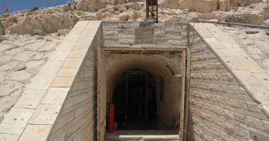 الآثار: بدء أعمال تطوير وترميم متحف كهف روميل بمطروح