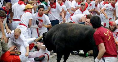 مهرجان سان فيرمين بإسبانيا