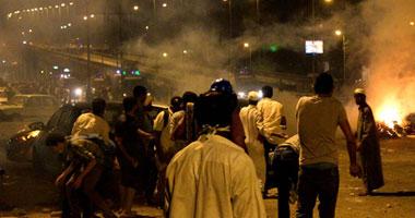 بالأسماء.. 17مصاباً باشتباكات مؤيدى مرسى