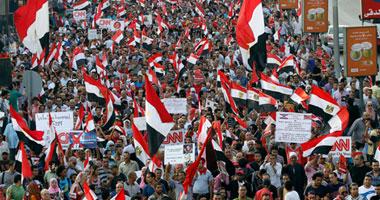 مسيرة حاشدة عقب الإفطار بالإسماعيلية فى جمعة العبور والنصر