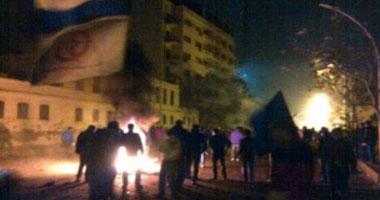 إصلاح عطل بالشبكة الهوائية للكهرباء تسبب فى ظلام بوسط الإسكندرية