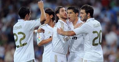 ريال مدريد يعود للفوز بالانفجار