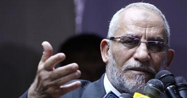 القبض محمد بديع مرشد الإخوان