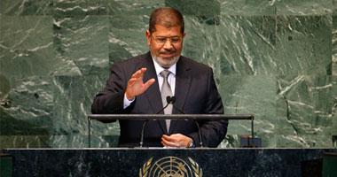 مرسى فى خطبة الجمعة يرفض التعليق على الأحداث ويركز على هجرة الرسول 19201226184117