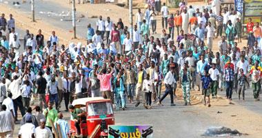 الأمن السودانى يفرق مظاهرة فى الخرطوم احتجاجا على رفع أسعار الوقود