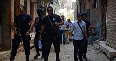 قوات الأمن تمشط منازل بالعياط
