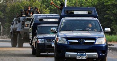 قوات الأمن تقتحم كرداسة لتطهيرها من البؤر الإرهابية وتضبط 123 متهما