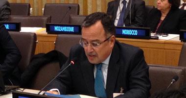 وزير الخارجية يتابع مسار عملية السلام مع مندوب الأمم المتحدة