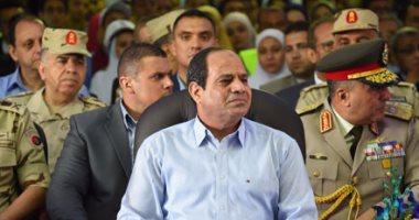 السيسي: لو كانت إرادة المصريين خوضى انتخابات الرئاسة مرة أخرى سأفعل ذلك