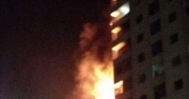 الدفع بـ3 سيارات إطفاء للسيطرة على حريق شقة سكنية بالجيزة