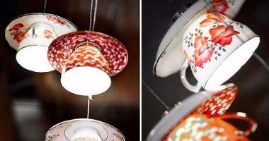 متركنيوهش فى النيش..7أفكار مبتكرة لاستخدام طقم الشاى القديم