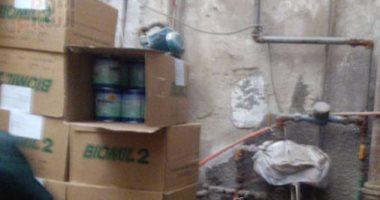 """بالفيديو والصور.. الشركة المصرية تخزن الأدوية بـ""""منور"""" بكفر الشيخ"""