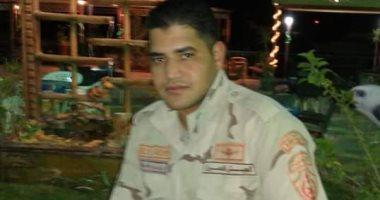 جنازة مهيبة لشهيد شمال سيناء بمسقط رأسة بالمنوفية وسط غياب المسؤلين