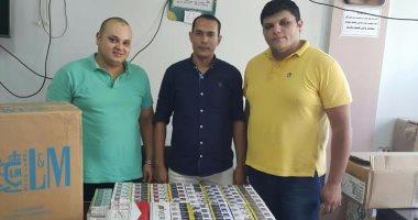 ضبط 12 ألف عبوة عصير مجهولة المصدر فى حملة تموينية بسوهاج