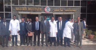 بالصور.. وزير صحة جيبوتى يزور معهد ناصر لتنشيط السياحة العلاجية بين البلدين