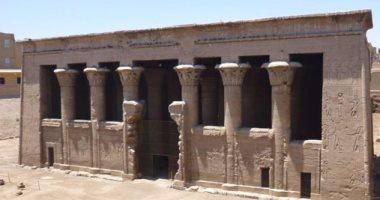 بالصور..معبد خنوم بإسنا يشهد خطة تطوير لدخول الخريطة السياحية