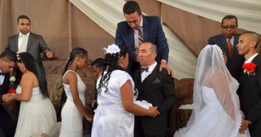 الحب فى الزنزانة.... حفل زواج جماعى فى سجون كولومبيا