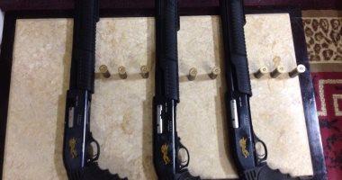 ضبط 62 بندقية وتنفيذ 79 ألف حكم فى حملات أمنية خلال 24 ساعة