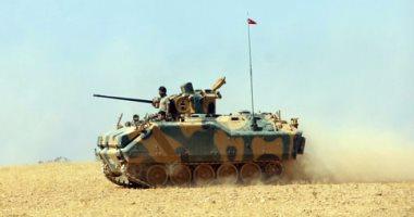 تركيا تقصف مجددا القوات الكردية السورية