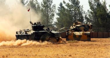 عمليات الجيش التركى فى سوريا -  أرشيفية