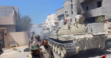 قوات المجلس الرئاسى الليبى: نجحنا فى انقاذ طفل من تحت الأنقاض فى سرت