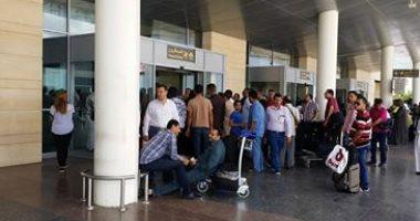 """جمارك مطار برج العرب تحبط محاولة تهريب """"تليسكوبات"""" معدة للأسلحة النارية"""
