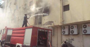 الحماية المدنية تسيطر على حريق داخل ورشة دوكو فى الإسكندرية