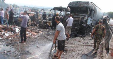 مقتل واصابة العشرات فى انفجار بمزار جنوب غرب باكستان