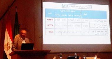 ماجد عثمان: مؤشر عدم المساواة فى مصر سجل 69% والتعليم 41%