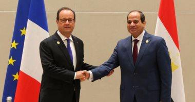 الإليزيه: لقاء بين هولاند والسيسى الثلاثاء على هامش اجتماعات الأمم المتحدة