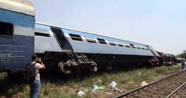 """وزارة الصحة: 5 وفيات و31 مصابا الحصيلة النهائية لحادث قطار """"العياط"""""""